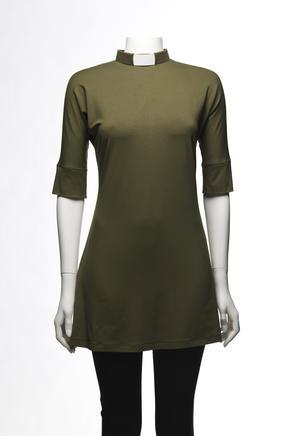 ESTER short sleeve olive green