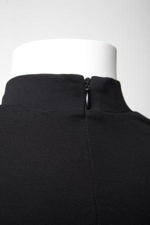 ADA-dress black wool