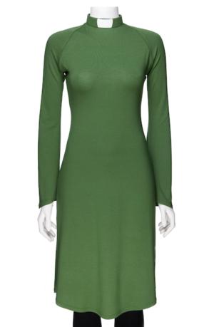 RUT-dress bright green