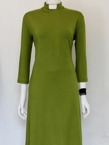 EVA-klänning limegrön